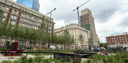 Plac Powstańców Warszawy znów zielony