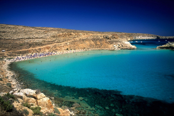 Plaža zečeva, Lampeduza, Italija