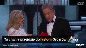 Oscary 2017: historyczna wpadka na tegorocznej gali