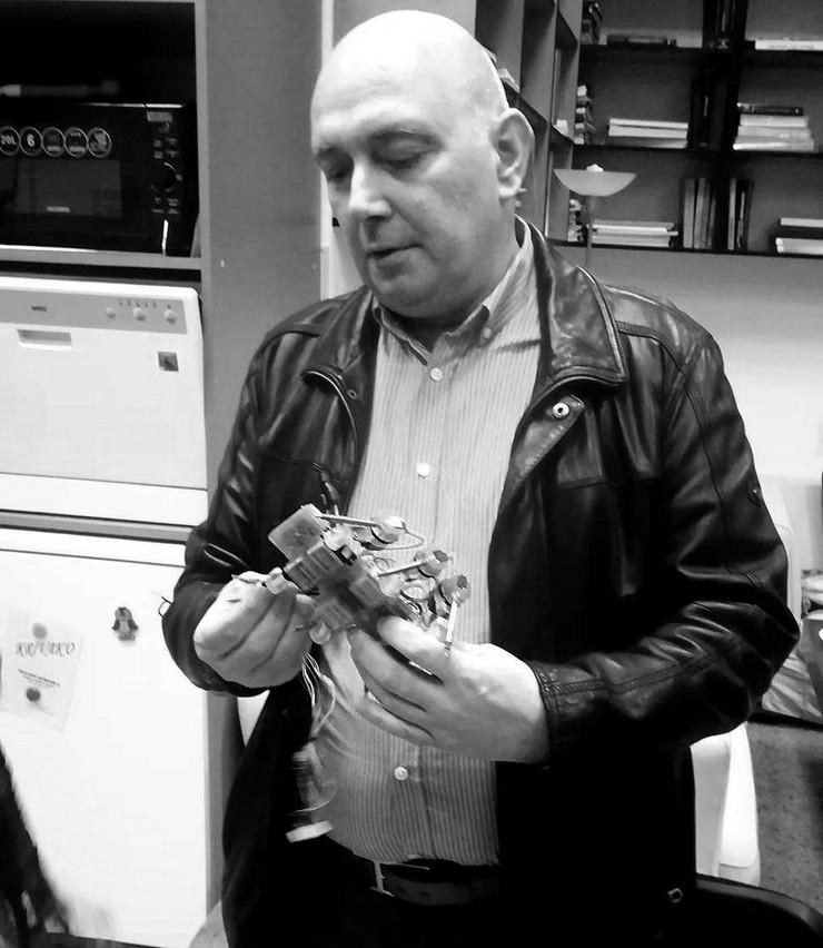 Profesor Goran Đorđević, pomoćnik gradonačelnika Niša