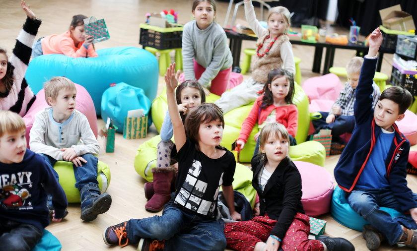 Warsztaty dla dzieci w Centrum Poznawczym.