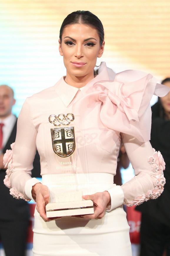 Najbolja sportistkinja Srbije za 2015: Ivana Španović