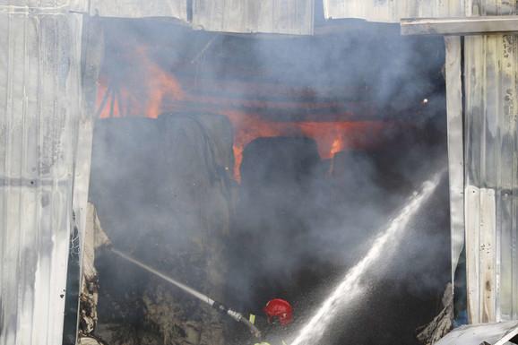 Vatra unutar objekta