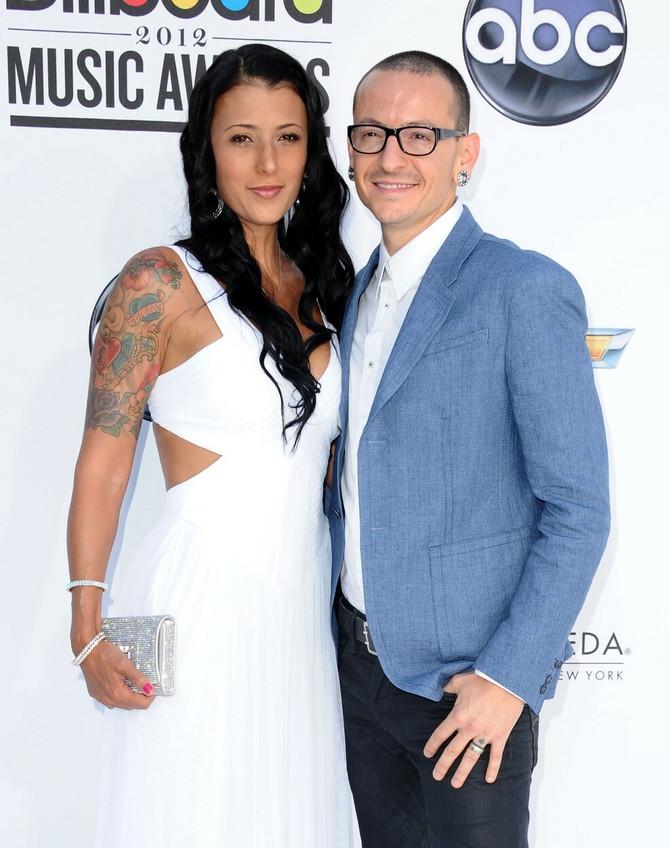 Talinda i Čester Benington 2012. godine