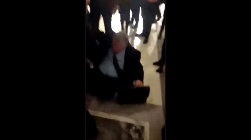 Wideo z upadkiem Marka Suskiego obiegło internet