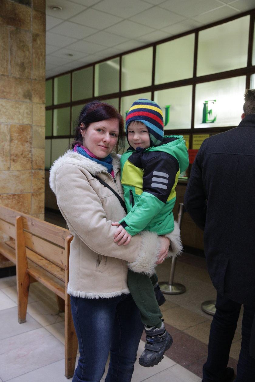 Edyta Kozicka (37 l.), mama Kamila (4 l.)