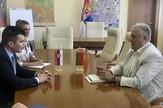 Sastanak ministra Zorana Đorđevića i novoizabranog beloruskog ambasadora Valerija Briljova