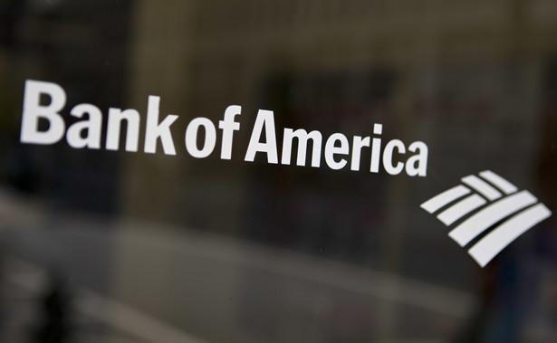 Logo Bank of America.