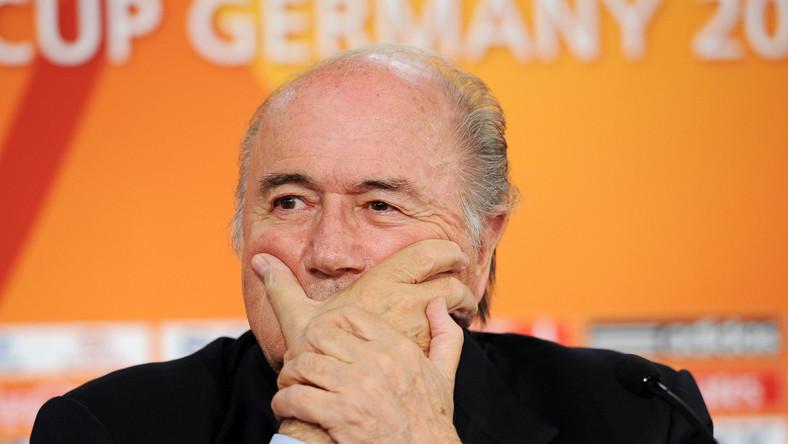 Blatter przedstawił program walki FIFA z korupcją
