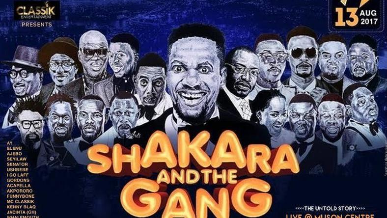 Shakara and the gang 2017