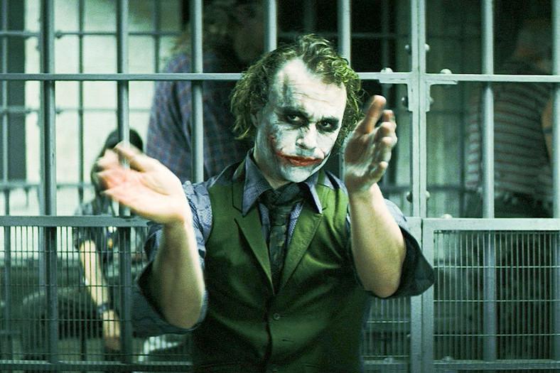 Heth Ledger jako Joker