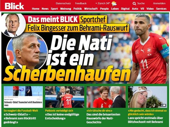 Naslovna strana švajcarskog