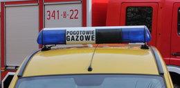 Wyciek gazu w Wawrze