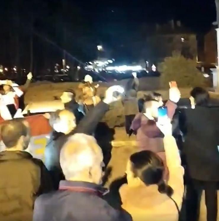 Nikšić hodočasnici sc Facebook Marko Kovacevic