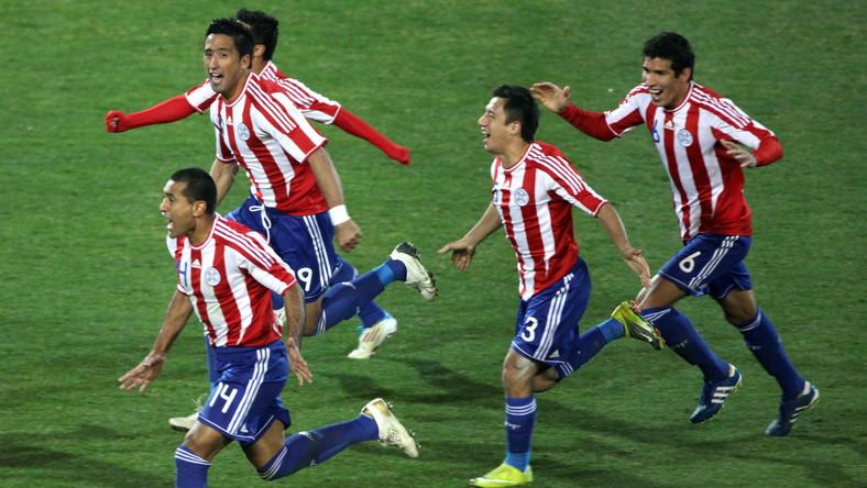 Copa America - Urugwaj kontra Paragwaj w finale