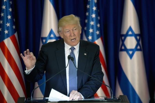 Prezydent USA Donald Trump przybył we wtorek rano do Betlejem na Zachodnim Brzegu Jordanu