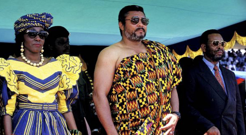 Jerry John Rawlings: 10 lovely photos of Ghana's 'man of the people'
