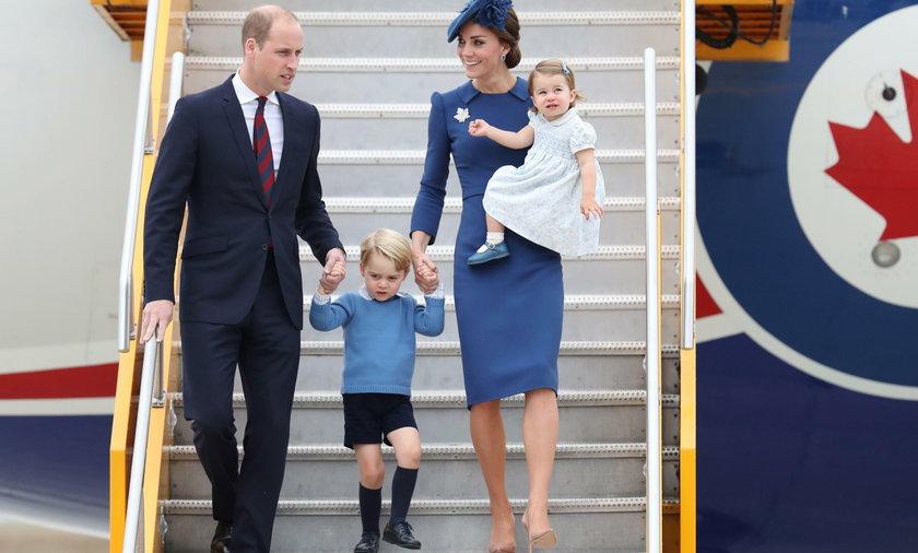 Księżna Kate i książę William z Charlotte i Jerzykiem w Kanadzie