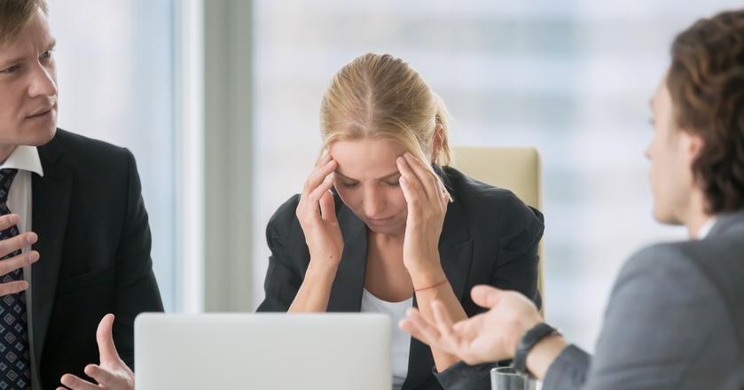 Dlaczego rozmowa kwalifikacyjna zakończyła się porażką?