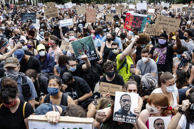 Protesti, Njujork, SAD, Flojd