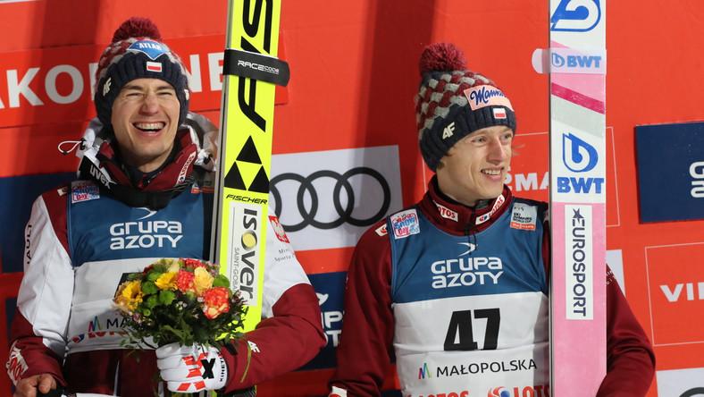 Stoch i Kubacki na podium