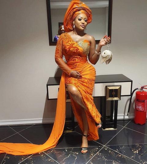 Uche Elendu was also accused by Doris Ogala of trying to attacm her spiritually during her wedding. [Instagram/UcheElendu]