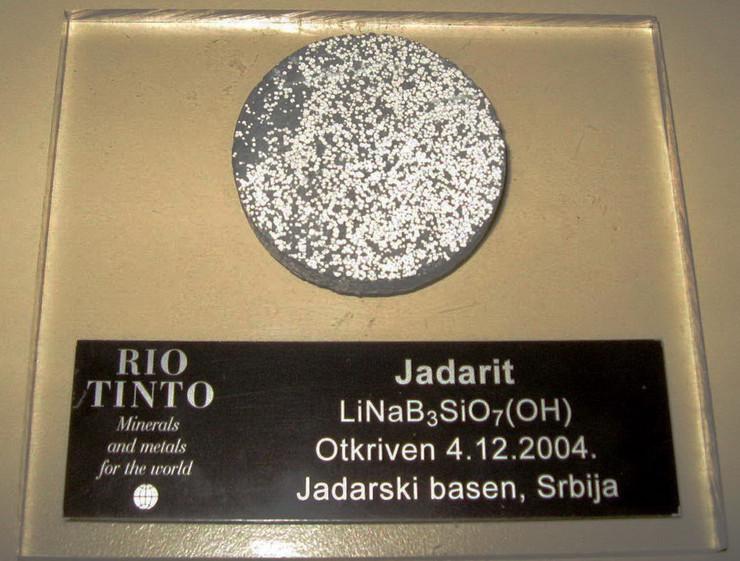 Loznica03 kompanija rio tinto otvara info centar u loznici jada otkriven 2004. godine u loznickom kraju foto s.pajic
