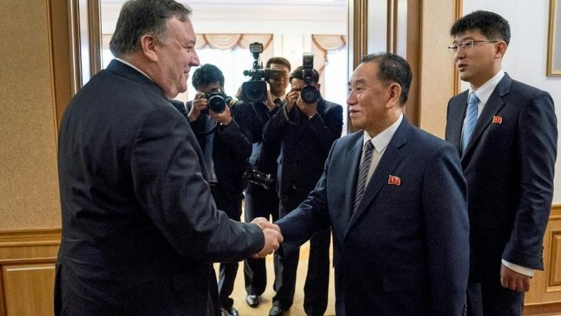 Secretary of State Mike Pompeo was ensconced in an elegant Pyongyang guest house for a second day of talks with North Korean leader Kim Jong Un's right-hand man Kim Yong Chol