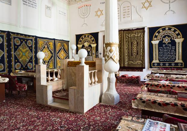 Bima, synagoga w Uzbekistanie