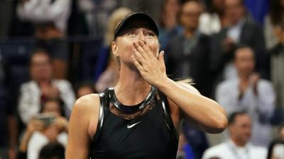 Former world number one wins Slam return, ousts Halep at US Open