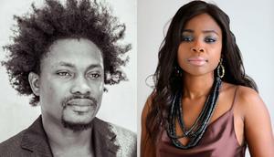 Rapper AJ Nelson and Togolese singer Valentine Alvares