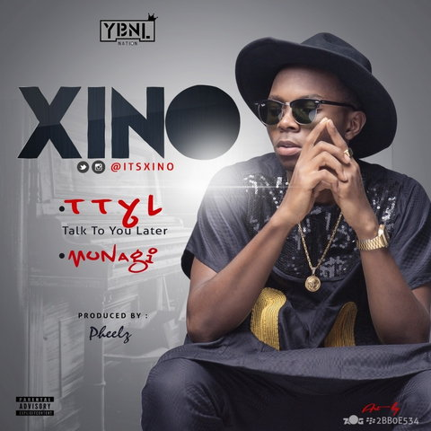 Promo bill for Xino's singles with YBNL (Accelerate TV)