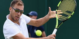 Horror Janowicza na inaugurację Wimbledonu