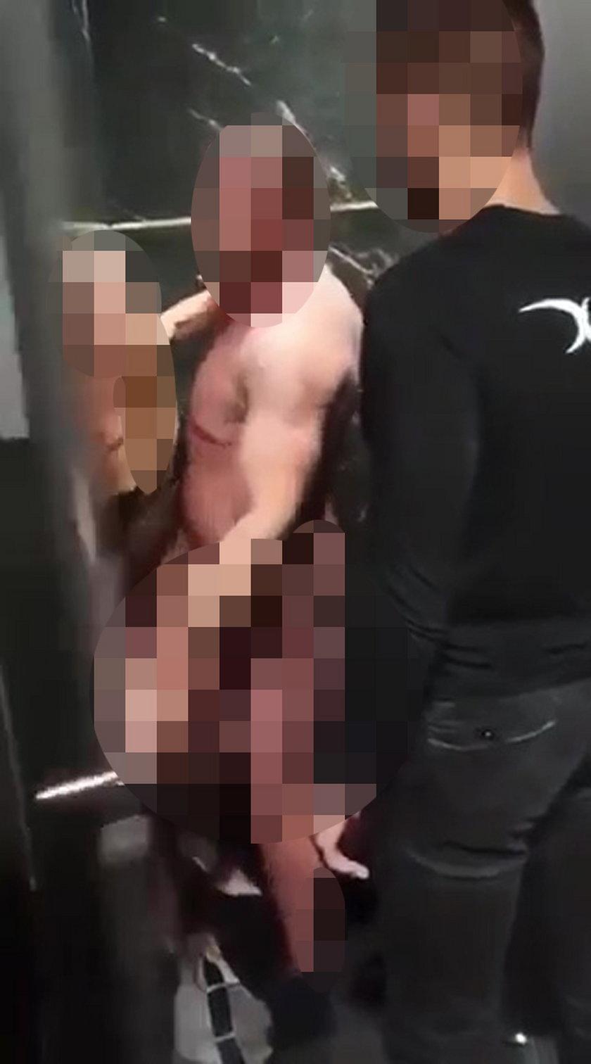 Para przyłapana w toalecie w Poznaniu