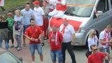 Zobacz jak Polacy kibicują przed meczem z Ukrainą!