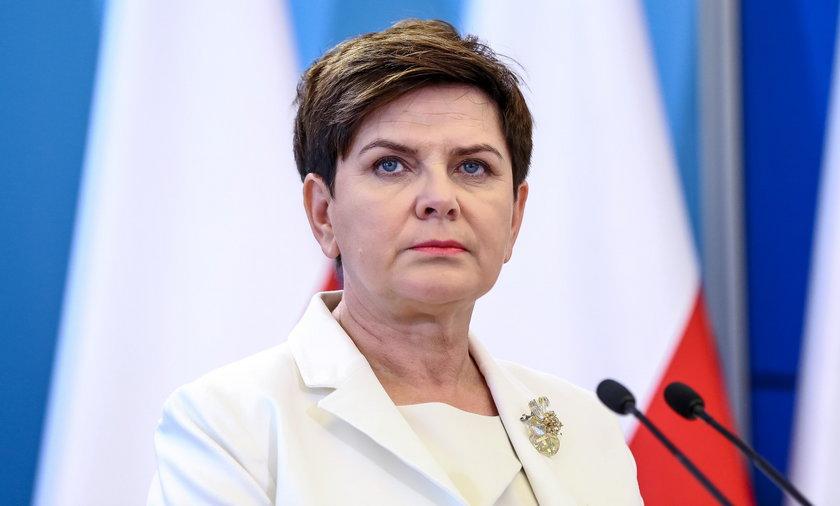 Beata Szydło żartuje z dziury budżetowej