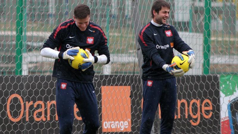 Łukasz Fabiański i Wojciech Szczęsny