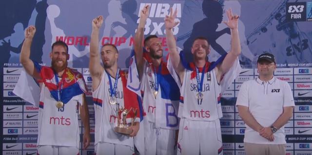 """Reprezentacija Srbije u basketu """"3 na 3"""""""