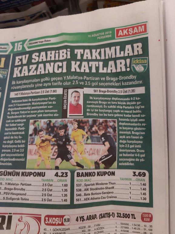 Novine u Turskoj