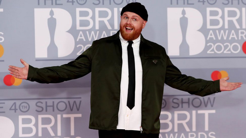 Tom Walker at the 40th BRIT Awards Red Carpet [Reuters]