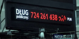 Dług publiczny rośnie 100 tys. zł na minutę