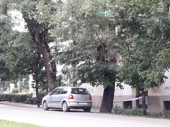 Automobil Stefana Cvetkovića