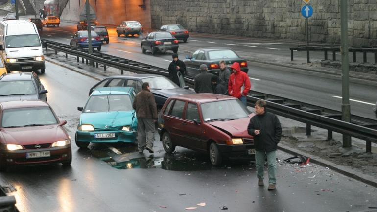 Najechanie - Co 3 wypadek na naszych drogach to klasyczne najechanie