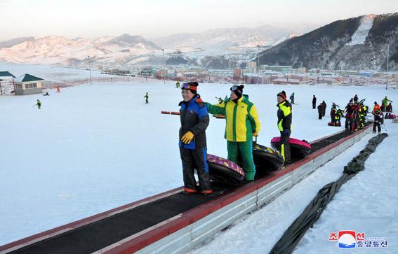 Ośrodek narciarski Kanggye