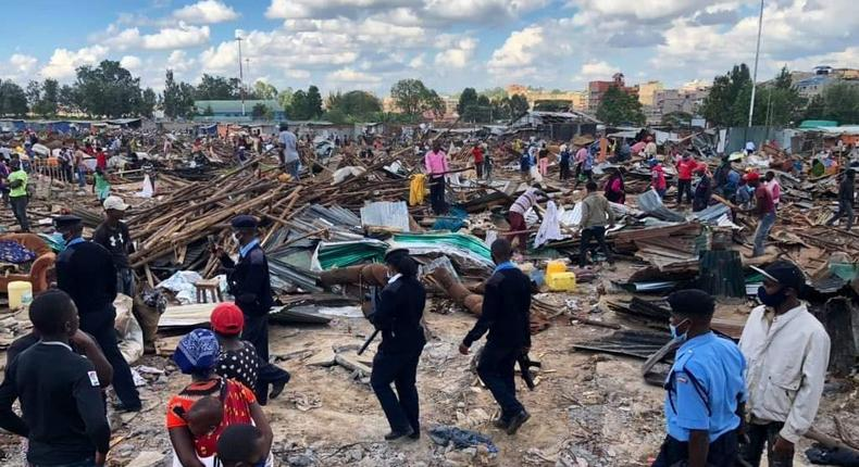 Government leaves families in the cold night after demolitions