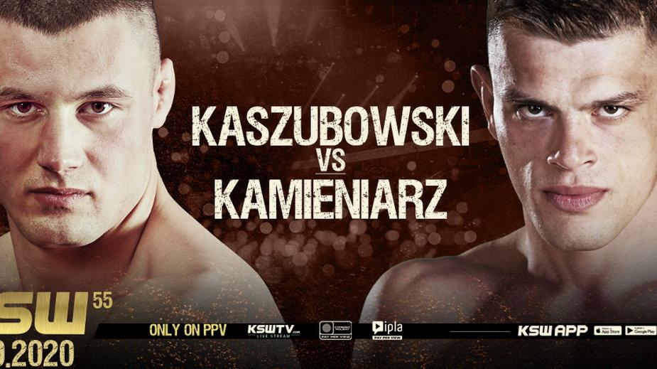 KSW 55: Kaszubowski - Kamieniarz
