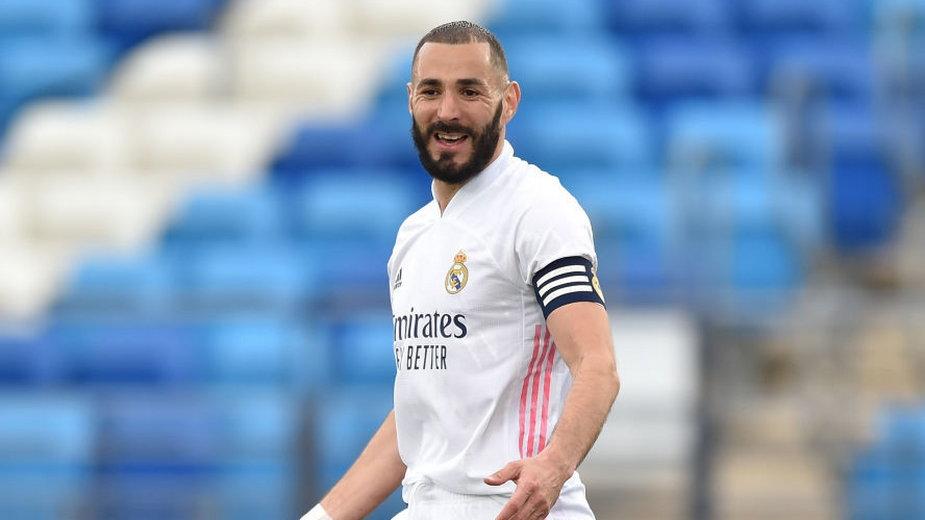 Karim Benzema w barwach Realu Madryt