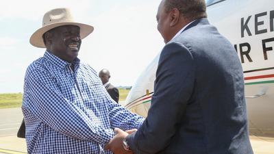 Uhuru in Kisumu (Photos)