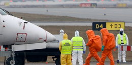 Ebola na lotnisku!