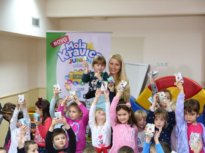 Moja Kravica Junior mleko za predškolce širom Srbije: Velika donacija Imleka povodom Svetskog dana deteta